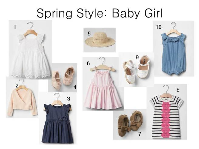 Gap Baby Spring Outfits