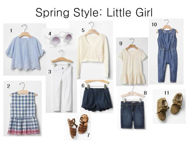 Gap Toddler Spring Outfits