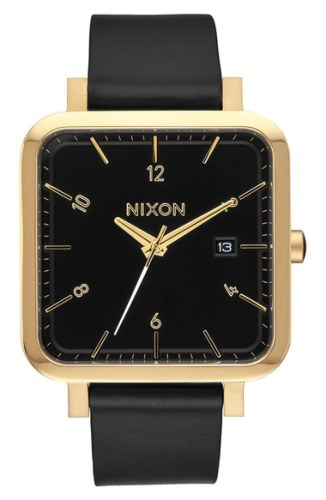 Nixon Ragnar Leather Watch
