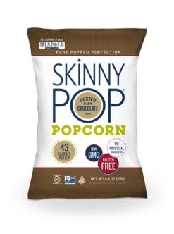 SkinnyPop Dusted Dark Chocolate (PRNewsFoto/SkinnyPop Popcorn)